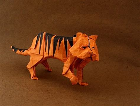 tiger origami origami tiger origami