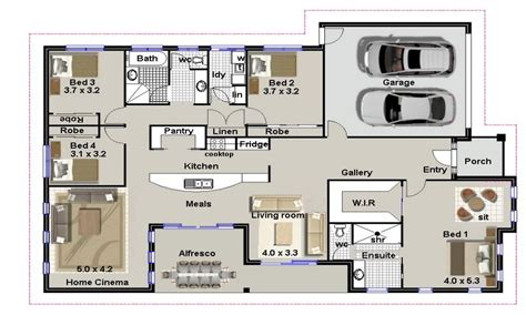 house designs bedrooms 4 bedroom house plans residential house plans 4 bedrooms