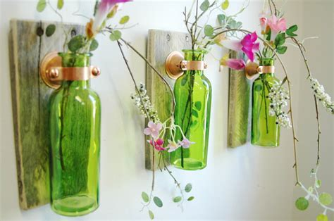 crafts with glass and useful diy recycled glass bottle projects