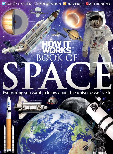 space picture books space shuttle and more explained in how it works book of