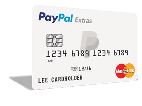 how to make a credit card with paypal paypal extras mastercard paypal us