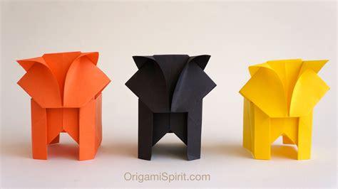 origami cat box origami cat leyla 1000