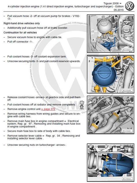 motor repair manual 2011 volkswagen jetta navigation system volkswagen tiguan 2008 2016 repair manual factory manual