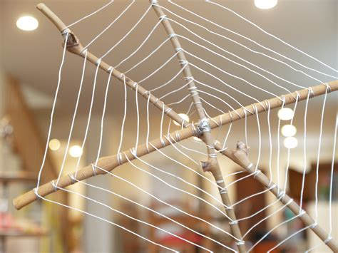how to make a spider web craft for let s make a wire spiderweb for the magic onions
