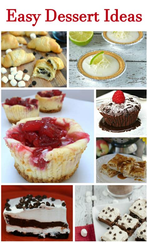 7 easy dessert recipes that you will family focus