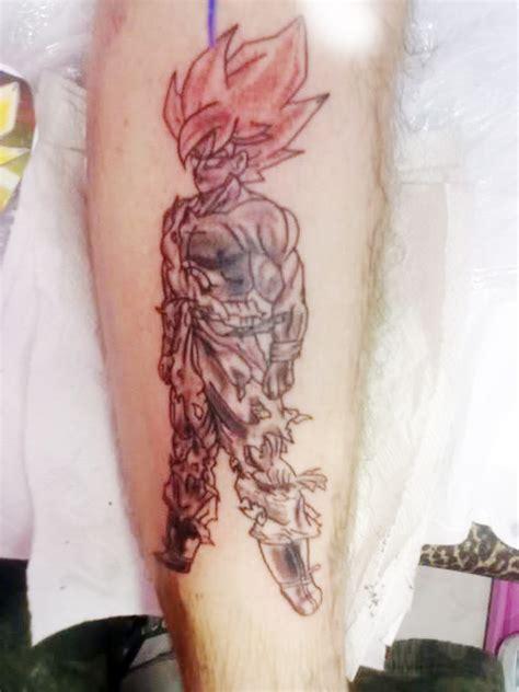 dragon ball tattoos goku returns the dao of dragon ball