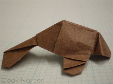 manatee origami hobbies let s a byte