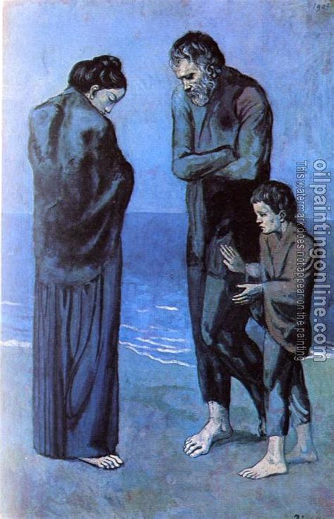picasso paintings the tragedy picasso pablo the tragedy canvas painting for sale