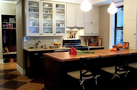 small kitchen black cabinets classic modern small kitchen remodel with white and