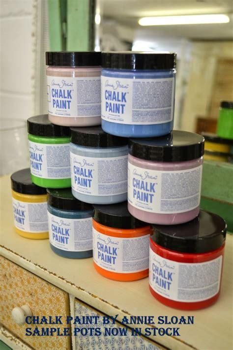 chalk paint exles chalk paint sle pots in stock