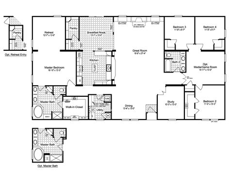 new home floor plans free free modular home floor plans best of 28 manufactured homes floor plans marvelous mobile homes