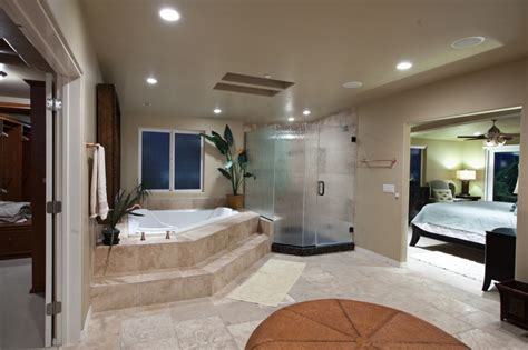 master bedroom and bathroom designs open bathroom concept for master bedroom