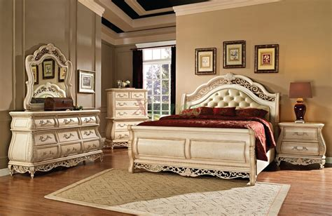 bedroom set with leather headboard sleigh bedroom furniture set with leather headboard 142