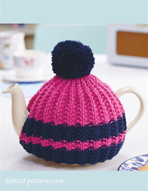knitting patterns for tea cosies free knitted tea cosy pattern free