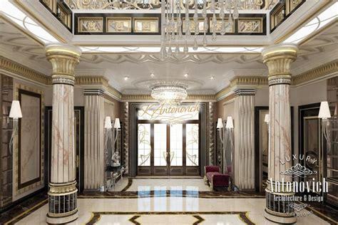 Flooring Plan interior of a luxury villa in qatar