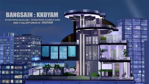 Build My Dream House penthouse 1 at my sims house 187 sims 4 updates