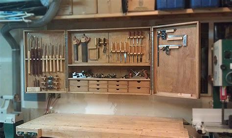 woodworking cabinets hanging tool cabinet by mike lumberjocks