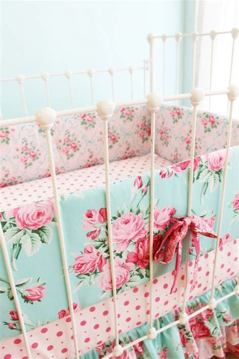 shabby chic crib bedding sets shabby chic crib bedding shabby chenille crib bedding