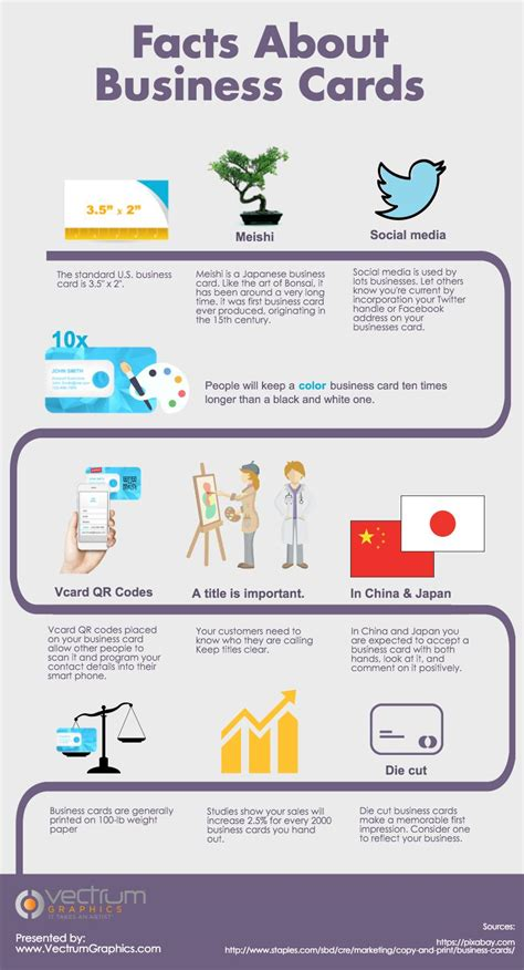what makes a business card what makes a business card effective infographic