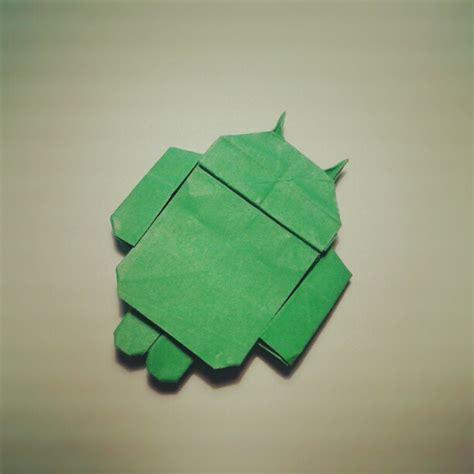 origami android origami android galletita de jengibre