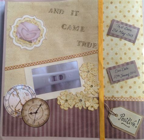 pregnancy crafts projects baby pregnancy scrapbook story book wish came true