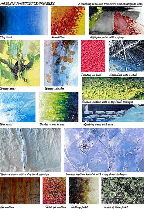 acrylic painting on canvas tips best 25 acrylic painting techniques ideas on