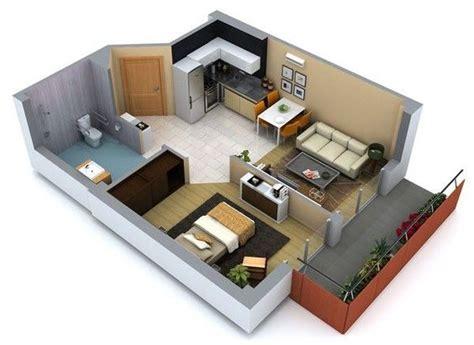 House Plans With Mil Apartment dise 241 os de interiores de casas peque 241 as y economicas