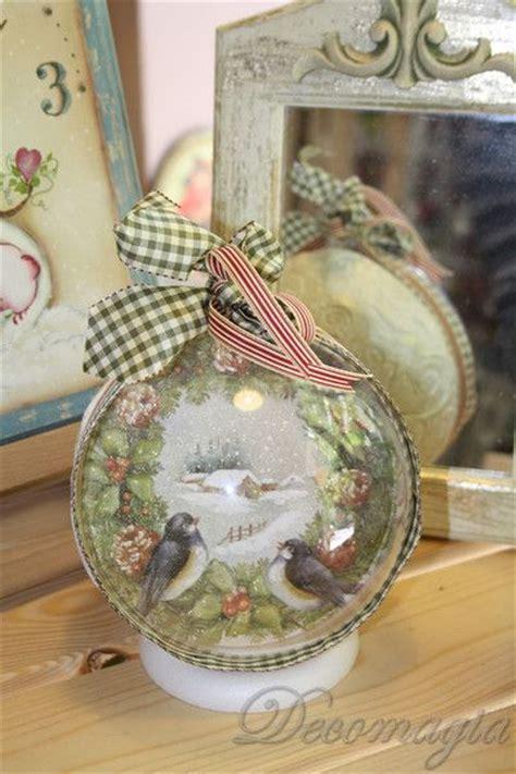 decoupage glass ornaments the world s catalog of ideas