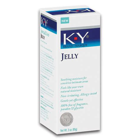 Ky Jelly Is A Water Based Water Soluble Lubricant The