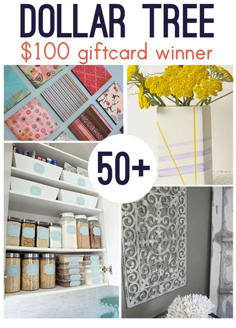 dollar tree crafts for dollar tree 100 gift card the winner is