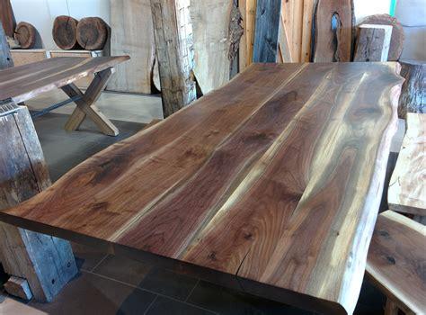 black walnut table top live edge dining room tables toronto