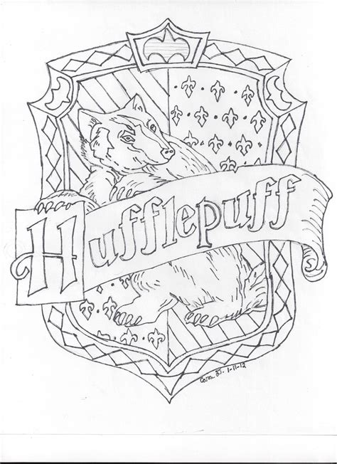 hufflepuff house by hyperlikemomiji22 on deviantart