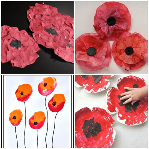 poppy crafts for 11 creative veteran s day poppy crafts from abcs to acts