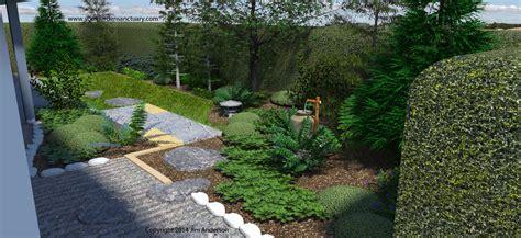 adding a tsukubai to finish up our small backyard japanese