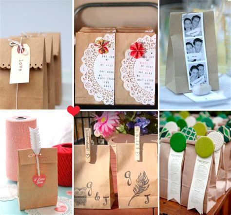 brown paper bag craft ideas how to dress up brown paper bags for a wedding