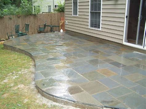 pictures of patios flagstone patios professional work silver