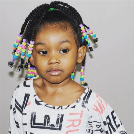 bead hair styles braided hairstyle with