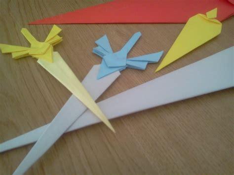origami weapons daga de origami tutorial 2 186 parte origami sword