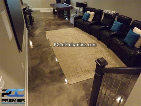 epoxy floors for basements basement flooring options epoxy finish epoxy flooring