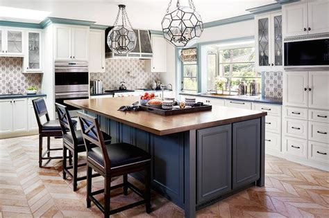 blue kitchen islands blue kitchen island with seating quicua
