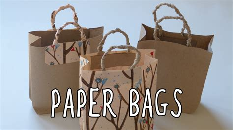 how to make a bag out of how to make a paper bag diy gift bags