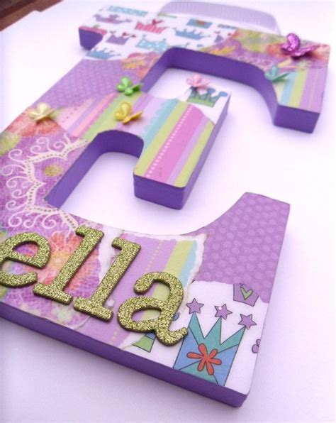 how to make decoupage letters 315 best children s wooden wall letters images on