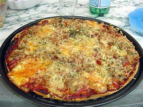 recette de pizza maison p 226 te 224 la map