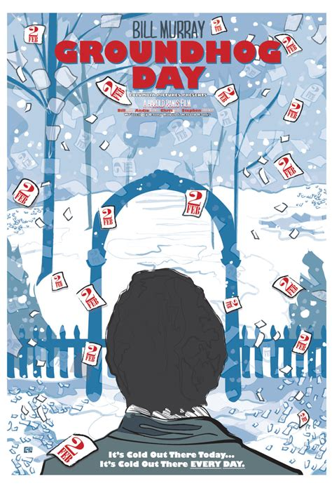 groundhog day poster groundhog day 1993 inspired poster quot does phil