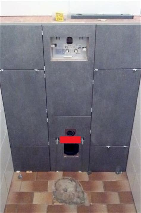 Zwevend Toilet Afvoer by Afvoer Zwevend Toilet Betegelen