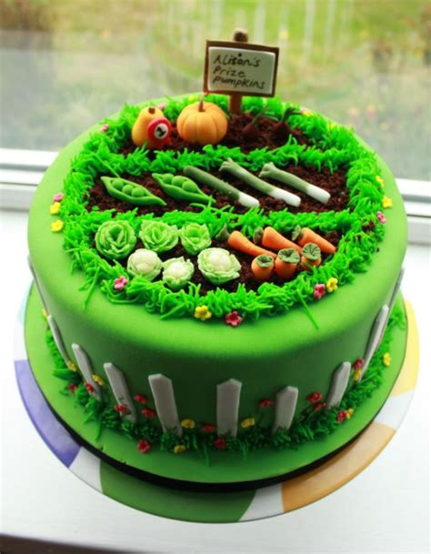 vegetable garden cake ideas 17 best ideas about birthday cakes for adults on