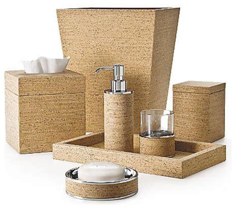 bathroom spa accessories labrazel cork bath accessories contemporary bathroom