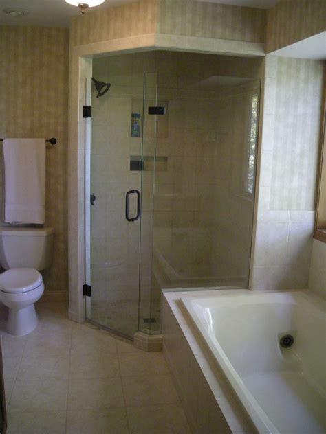 bathroom corner showers bathroom remodeling minnesota regrout and tile