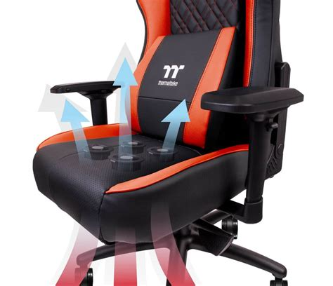 Chair For Gaming by Thermaltake S New Gaming Chair Cools Your With Four