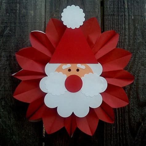 santa craft for santa claus crafts for
